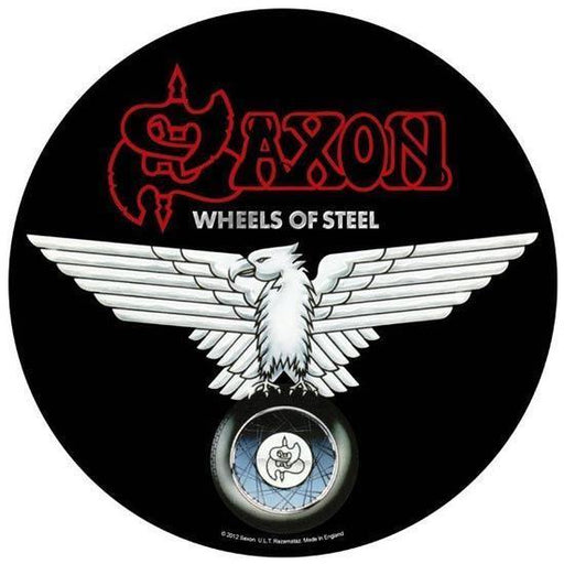 Back Patch - Saxon - Wheels of Steel-Metalomania