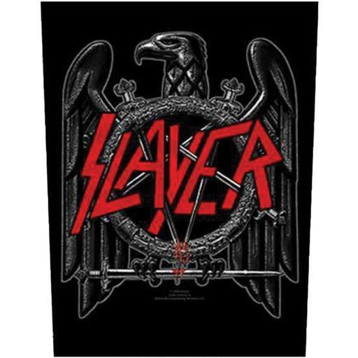 Back Patch - Slayer - Black Eagle-Metalomania