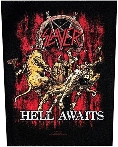 Back Patch - Slayer - Hell Awaits