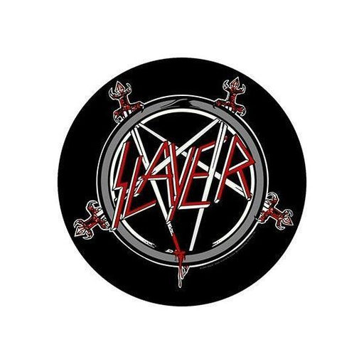 Back Patch - Slayer - Pentagram (round)-Metalomania