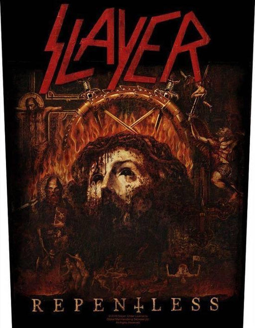 Back Patch - Slayer - Repentless-Metalomania