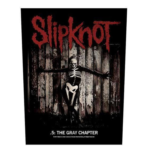 Back Patch - Slipknot - The Gray Chapter-Metalomania