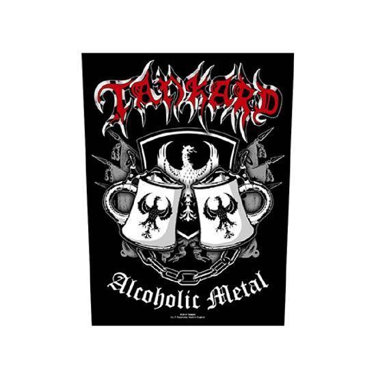 Back Patch - Tankard - Alcoholic Metal-Metalomania