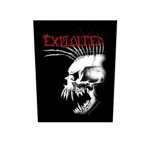 Back Patch - The Exploited - Side Mohawk
