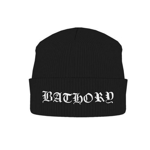 Beanie - Bathory - Logo-Metalomania