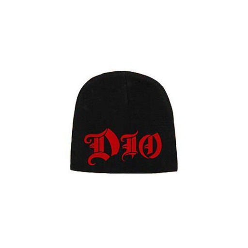 Beanie - DIO - Red Logo-Metalomania