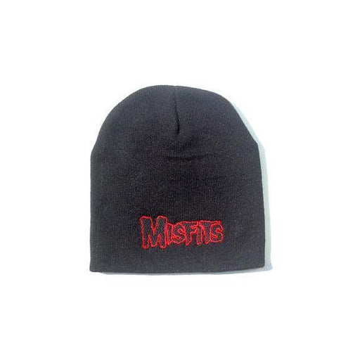 Beanie - Misfits - Red Logo-Metalomania