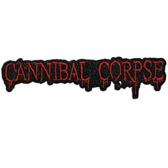 Patch - Cannibal Corpse - Logo-Metalomania