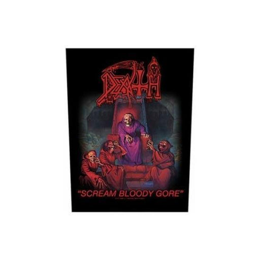 Back Patch - Death - Scream Bloody Gore