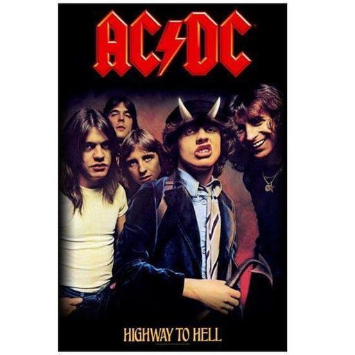 Deluxe Flag - ACDC - Highway to Hell-Metalomania