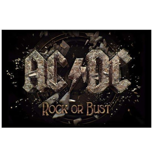 Deluxe Flag - ACDC - Rock or Bust-Metalomania