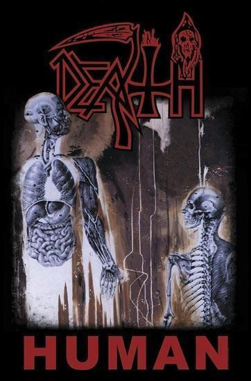 Deluxe Flag - Death - Human-Metalomania