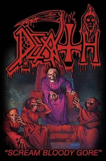 Deluxe Flag - Death - Scream Bloody Gore-Metalomania