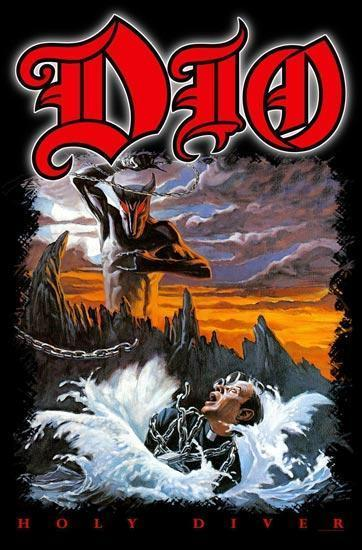 Deluxe Flag - Dio - Holy Diver-Metalomania