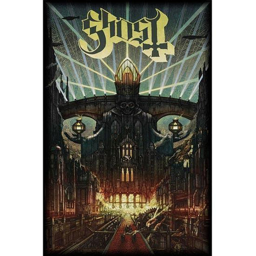 Deluxe Flag - Ghost - Meliora-Metalomania