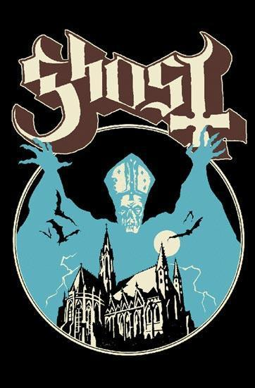 Deluxe Flag - Ghost - Opus Oponymous