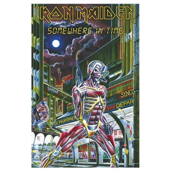 Deluxe Flag - Iron Maiden - Somewhere in Time-Metalomania