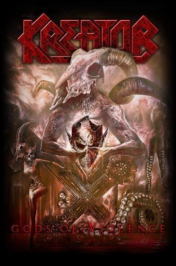 Deluxe Flag - Kreator - Gods of Violence-Metalomania