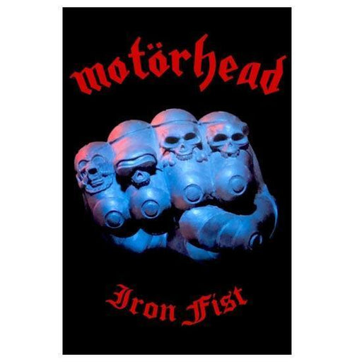 Deluxe Flag - Motorhead - Iron fist-Metalomania