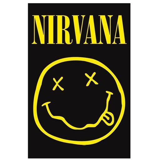 Deluxe Flag - Nirvana - Smiley