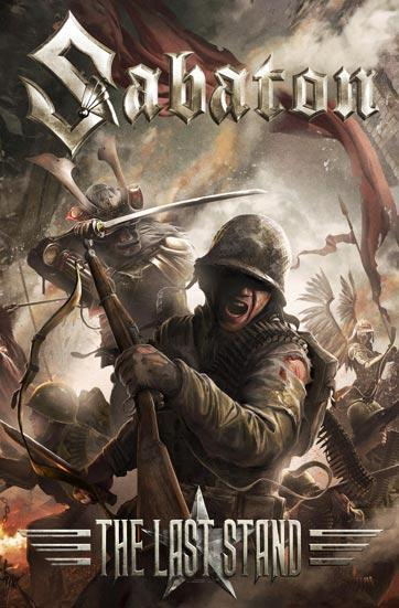 Deluxe Flag - Sabaton - The Last Stand-Metalomania