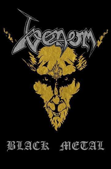 Deluxe Flag - Venom - Black Metal