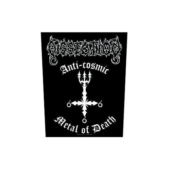 Back Patch - Dissection - Anti-Cosmic Metal of Death-Metalomania