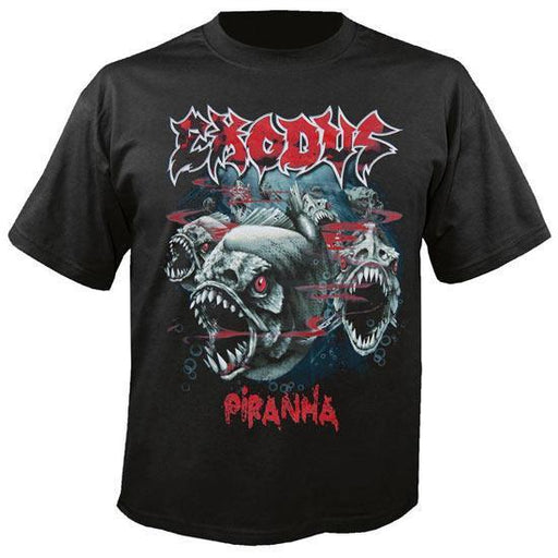 Exodus Piranha (T-Shirts)-Metalomania