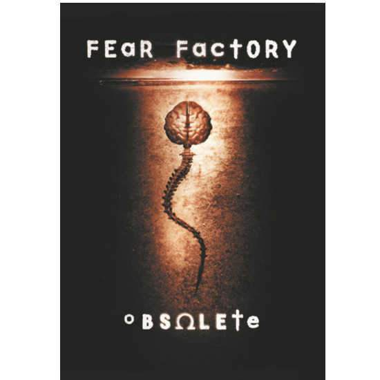 Flag - Fear Factory - Obsolete-Metalomania