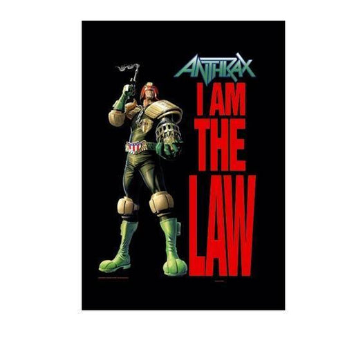 Flag - Anthrax - I Am The Law-Metalomania