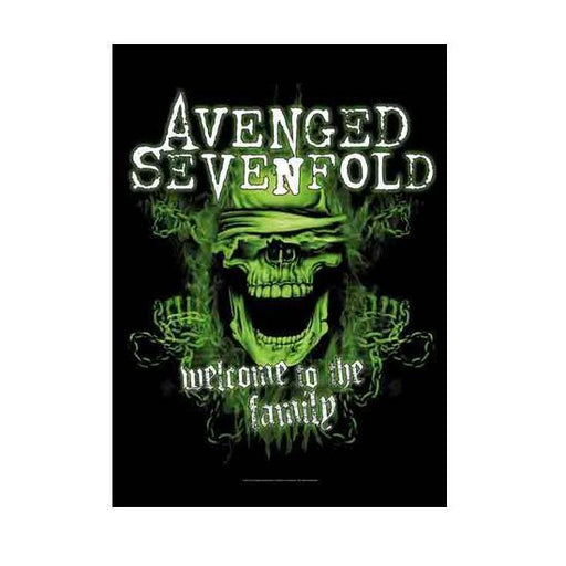 Flag - Avenged Sevenfold - Welcome to the Family-Metalomania