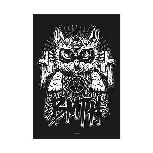Flag - Bring Me The Horizon - Owl
