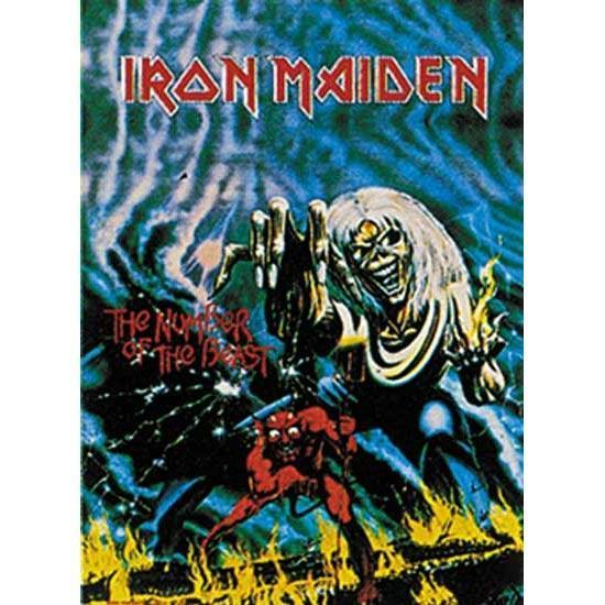 Flag - Iron Maiden - The No. of the Beast