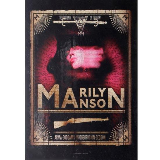 Flag - Marilyn Manson - Tarot Card