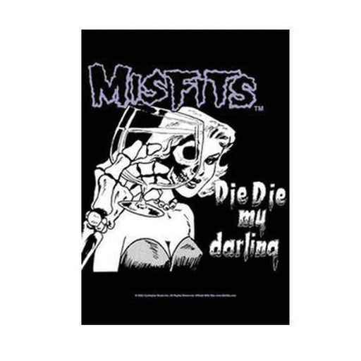 Flag - Misfits - Die Die My Darling-Metalomania