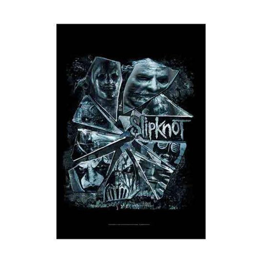 Flag - Slipknot - Broken Glass-Metalomania