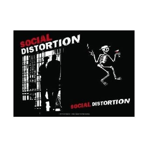 Flag - Social Distortion - Slammer-Metalomania