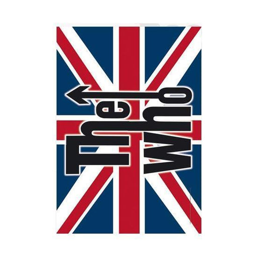 Flag - The Who - UK