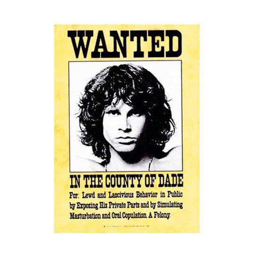 Flag - The Doors - Wanted-Metalomania