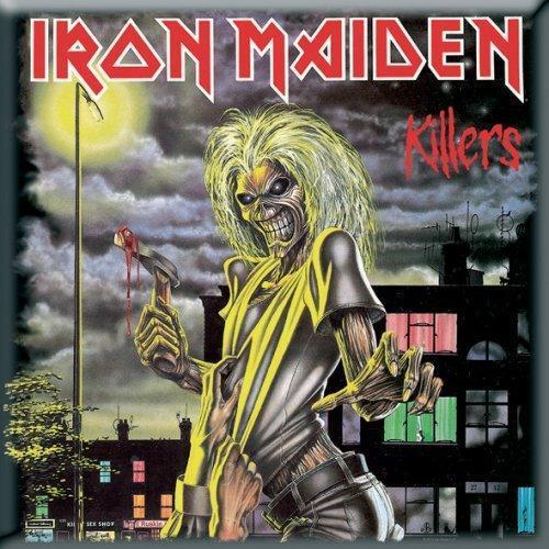 Fridge Magnet - Iron Maiden - Killers