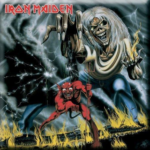 Fridge Magnet - Iron Maiden - Number of the Beast