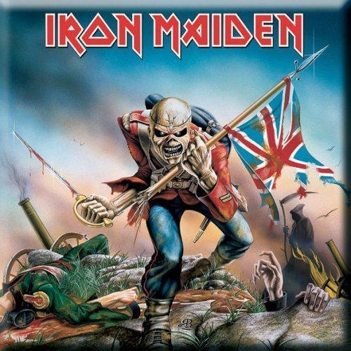Fridge Magnet - Iron Maiden - The Trooper