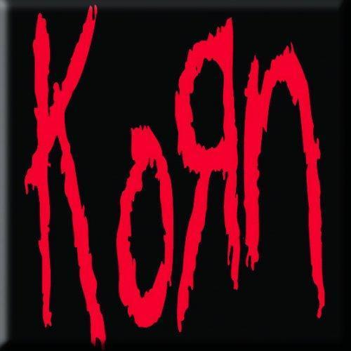 Fridge Magnet - Korn - Logo-Metalomania