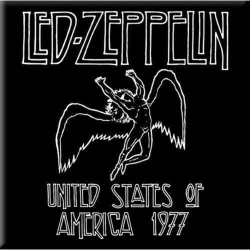 Fridge Magnet - Led Zeppelin - 1977 USA Tour-Metalomania