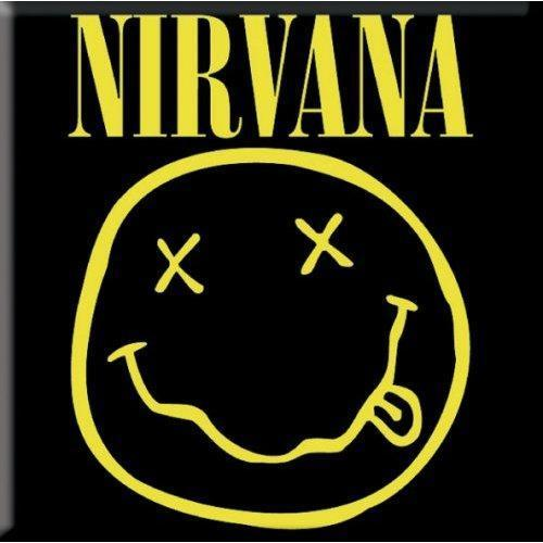 Fridge Magnet - Nirvana - Smiley