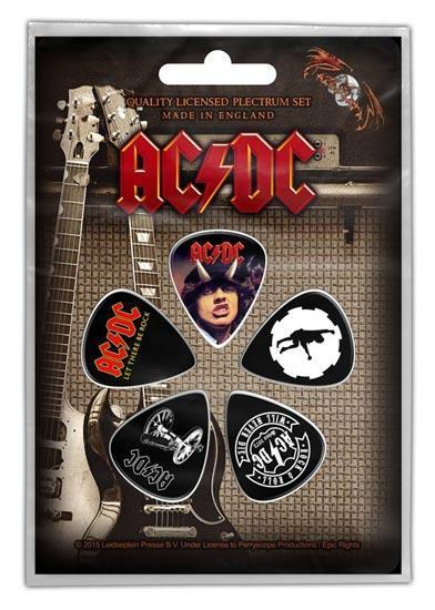 Guitar Picks - ACDC - Highway & Others-Metalomania