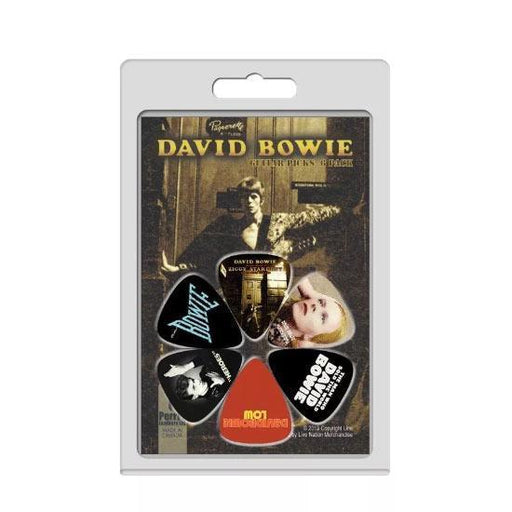 Guitar Picks - David Bowie - 6 Pack V1-Metalomania