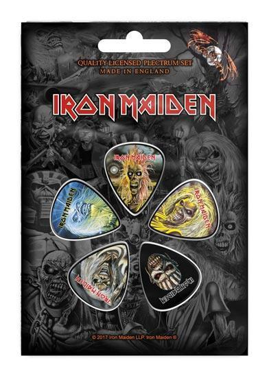 Guitar Picks - Iron Maiden - Faces of Eddie