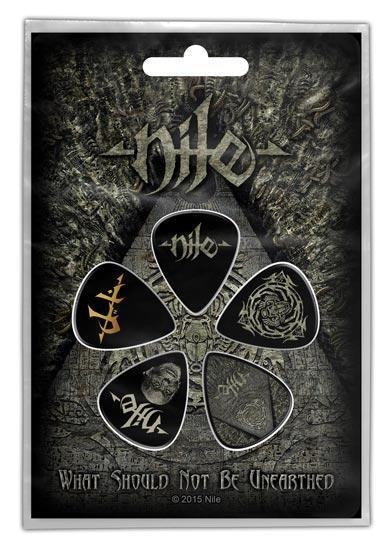 Guitar Picks - Nile - What Should not be Unearthed-Metalomania