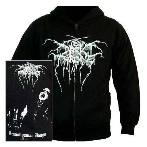 Hoodie - Darkthrone - Transylvanian Hunger (zip)-Metalomania